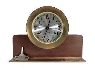 Seth Thomas Corsair ship clock