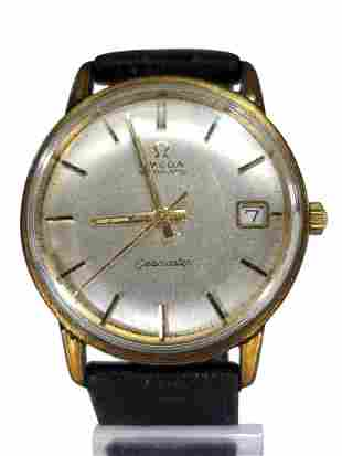1965 Omega Seamaster Automatic gold plated mens watch