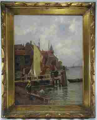 Karl Theodor WAGNER (1856-1921) oil on canvas painting