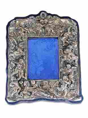 Antique Sterling picture frame