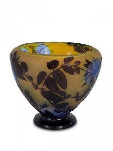 Emile GALLE (1846-1904) cameo glass vase