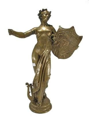 Jozef WILLEMS (1845-1910) bronze sculpture
