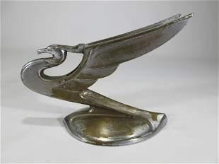 Vintage Art Deco metal car mascot