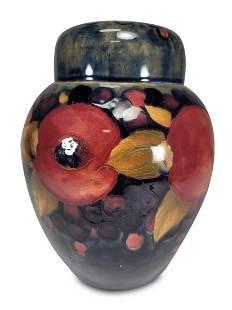 Vintage Moorcroft, England porcelain jar