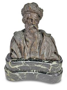 Antique signed David DAngers bronze bust