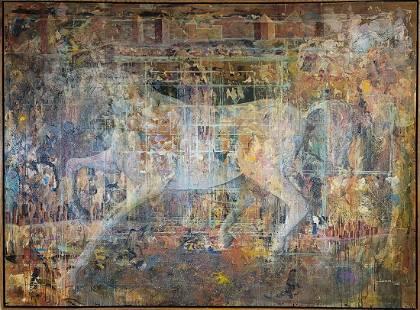 Yovanny Saracual (1968) Venezuelan artist