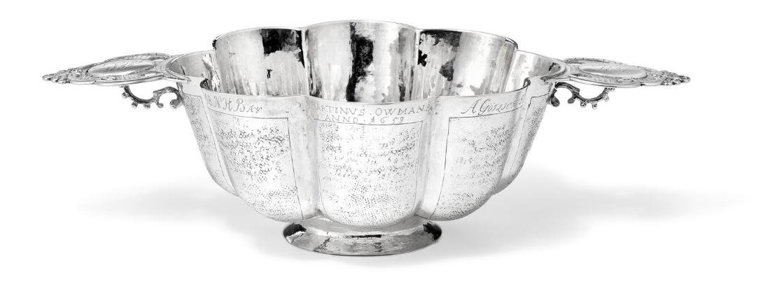 A Renaissance silver bowl. The Netherlands or Germany,