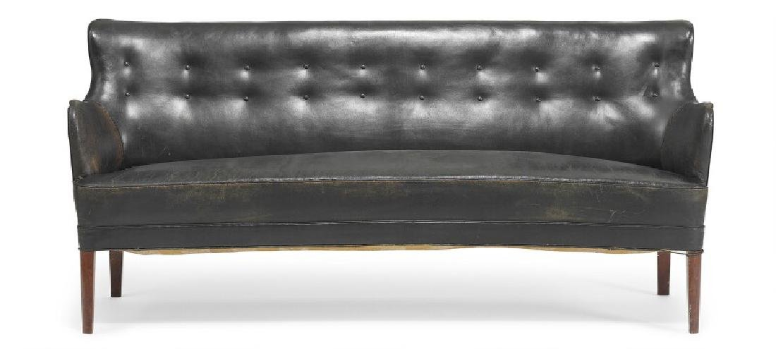 Orla Mølgaard-Nielsen: Three seater sofa with tapering - 3