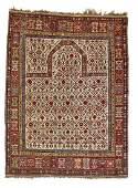 A Shirvan prayer rug, Eastern Caucasus. Arch design