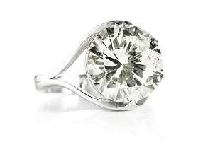 Georg Jensen & Wendel: A diamond solitaire ring set
