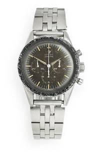 Omega: A gentleman's wristwatch of steel. Model