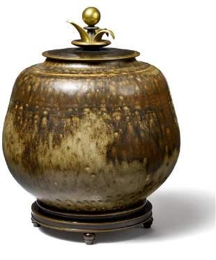 Kresten Bloch, Knud Andersen: Stoneware lid var
