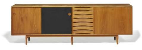 """Arne Vodder: """"Credenza"""". Freestanding teak sideboard"""