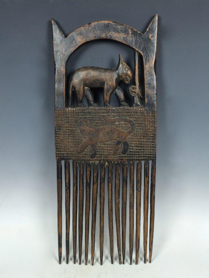 Bamana Wood Comb