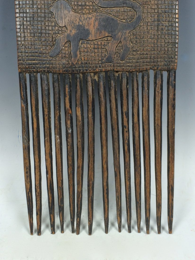 Bamana Wood Comb - 4