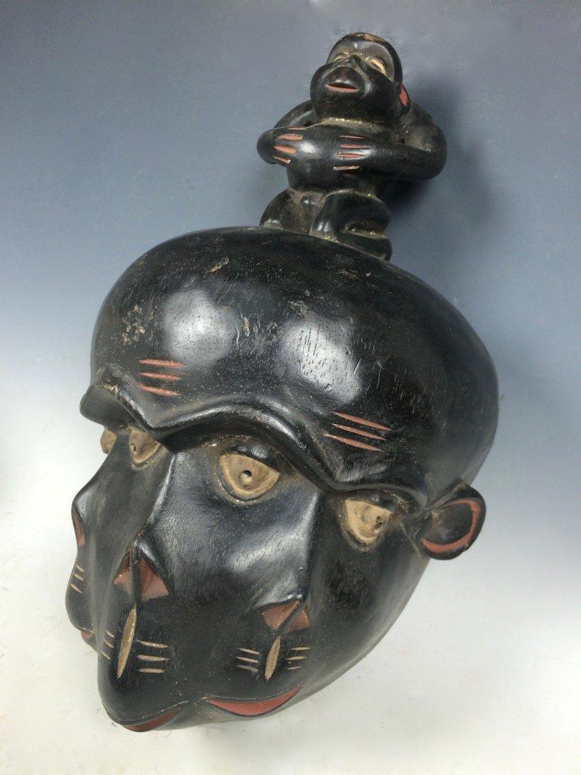 Triple Face Bulu Mask - 2