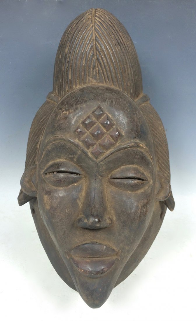 Black Punu Mask