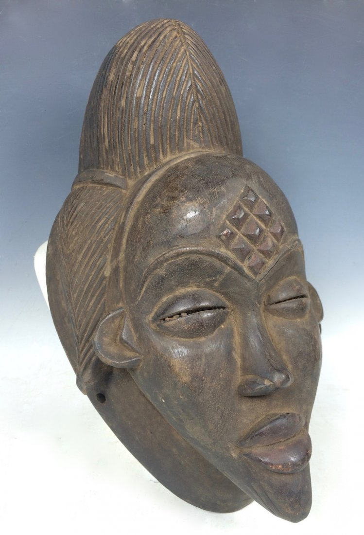 Black Punu Mask - 2