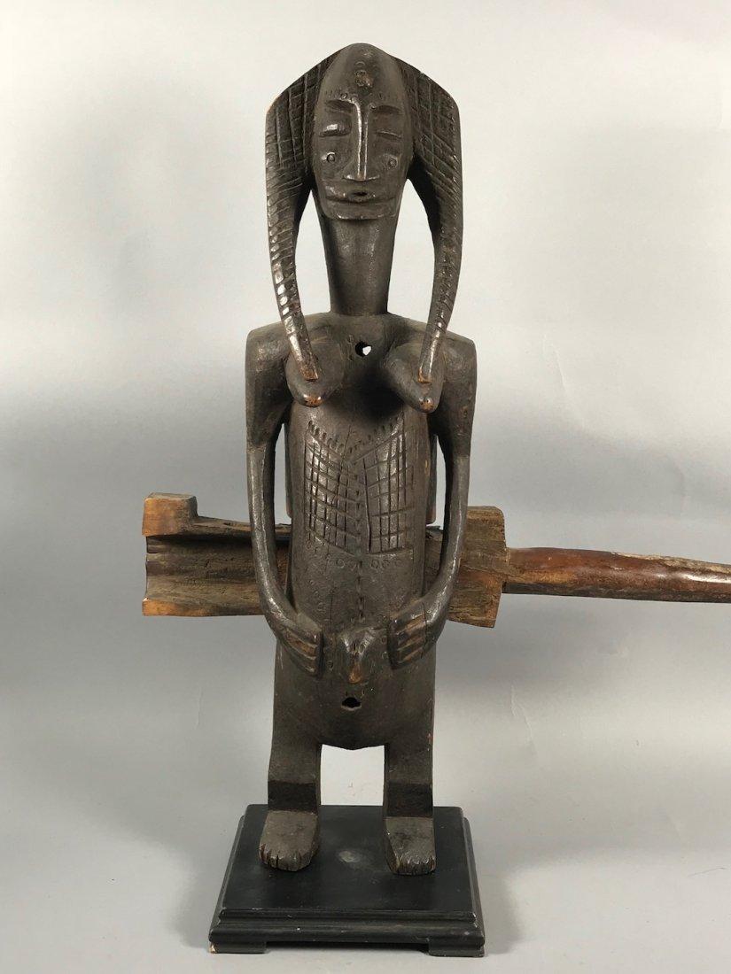 Bamana Door Lock Statue - 2