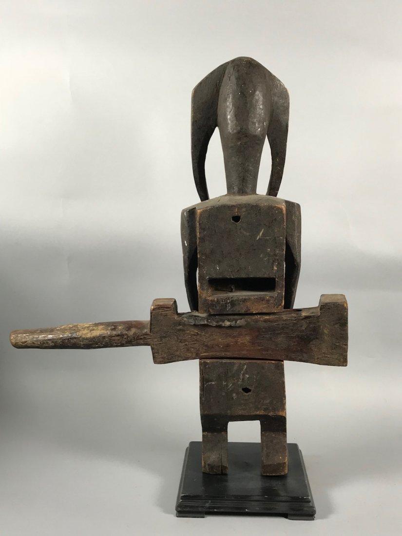 Bamana Door Lock Statue - 6