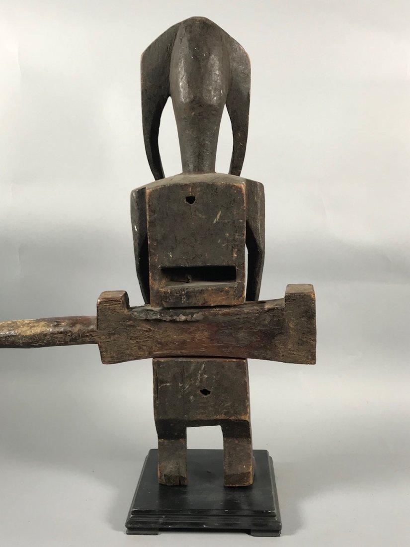 Bamana Door Lock Statue - 7
