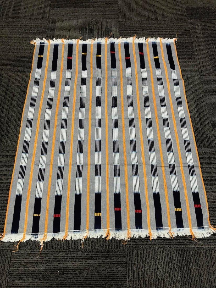 100% Cotton Baule Ikat Stripe Cloth