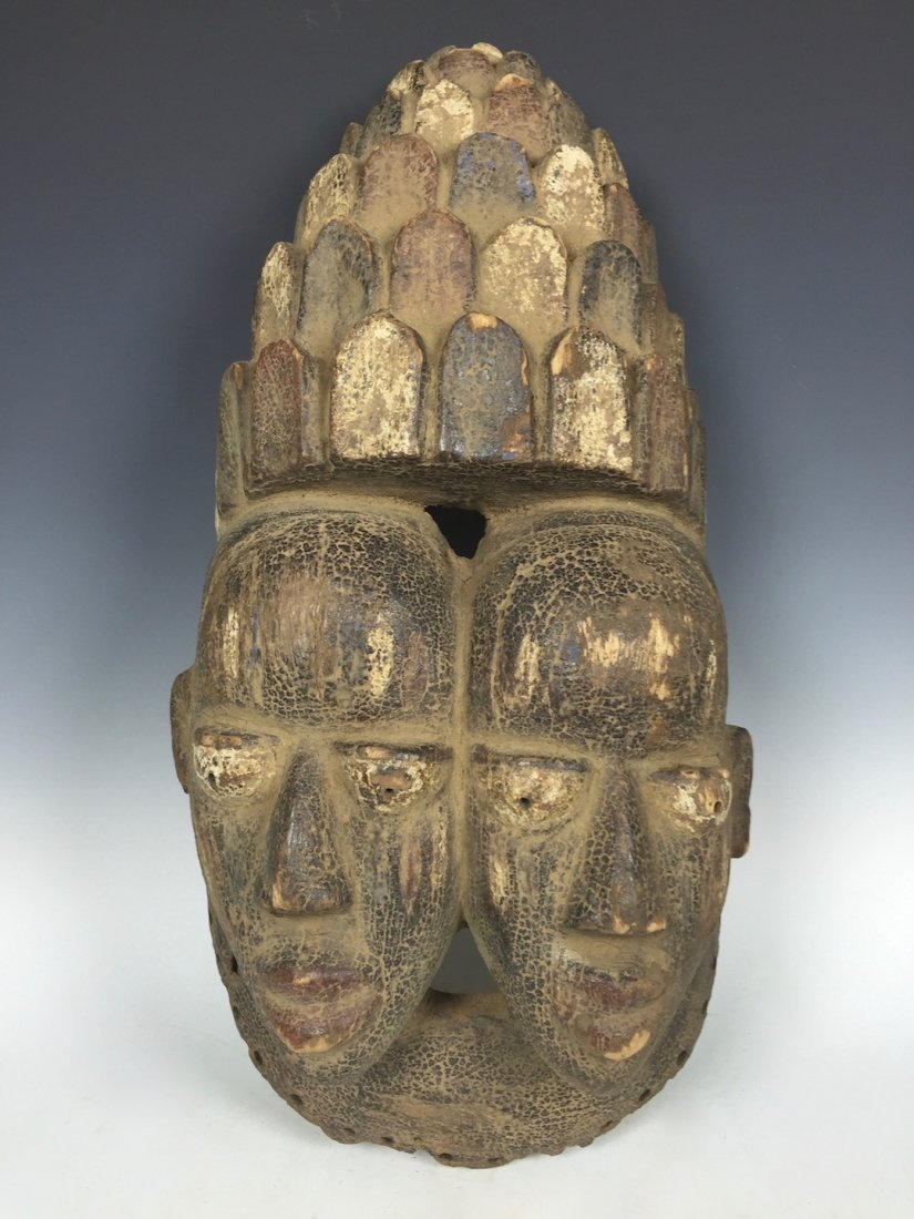 Double Face Yoruba Mask