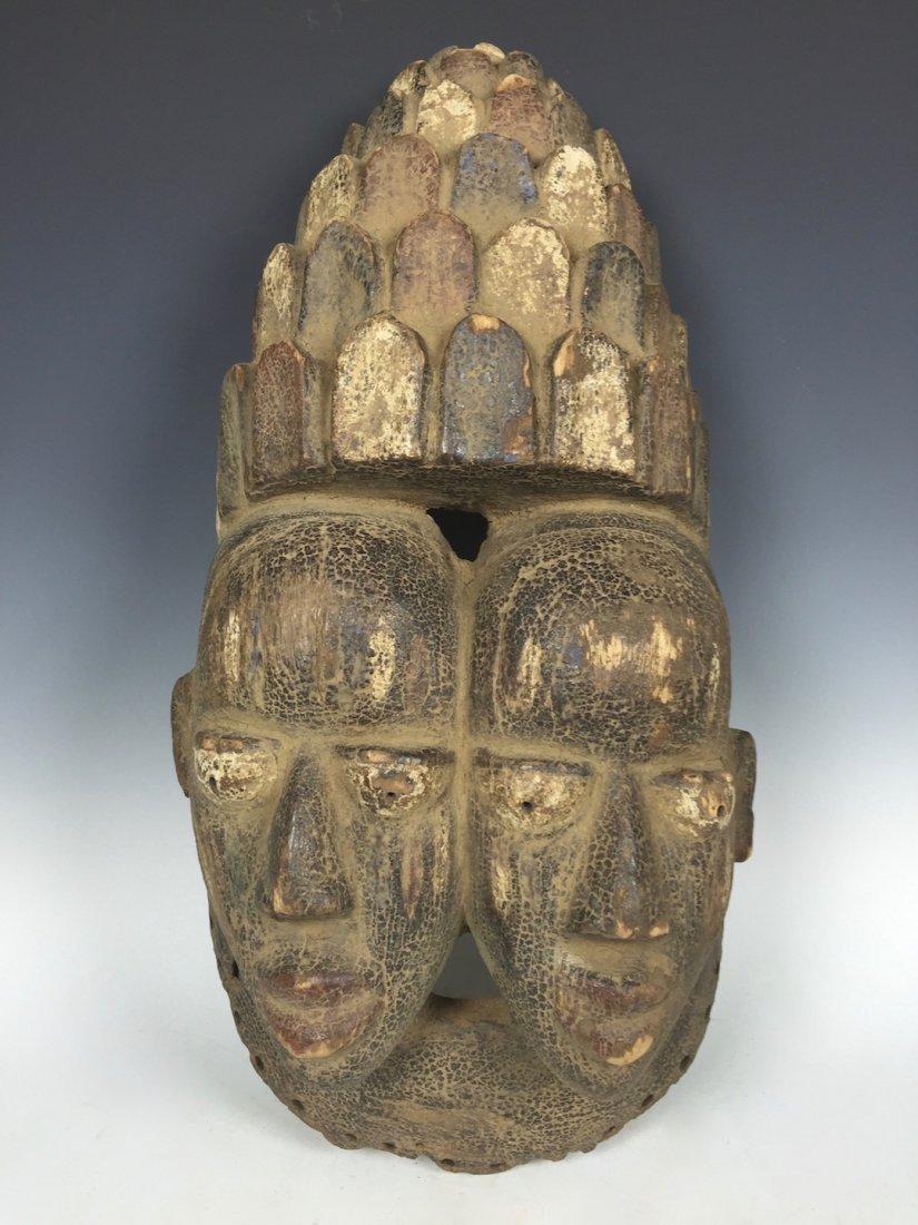 Double Face Yoruba Mask - 4