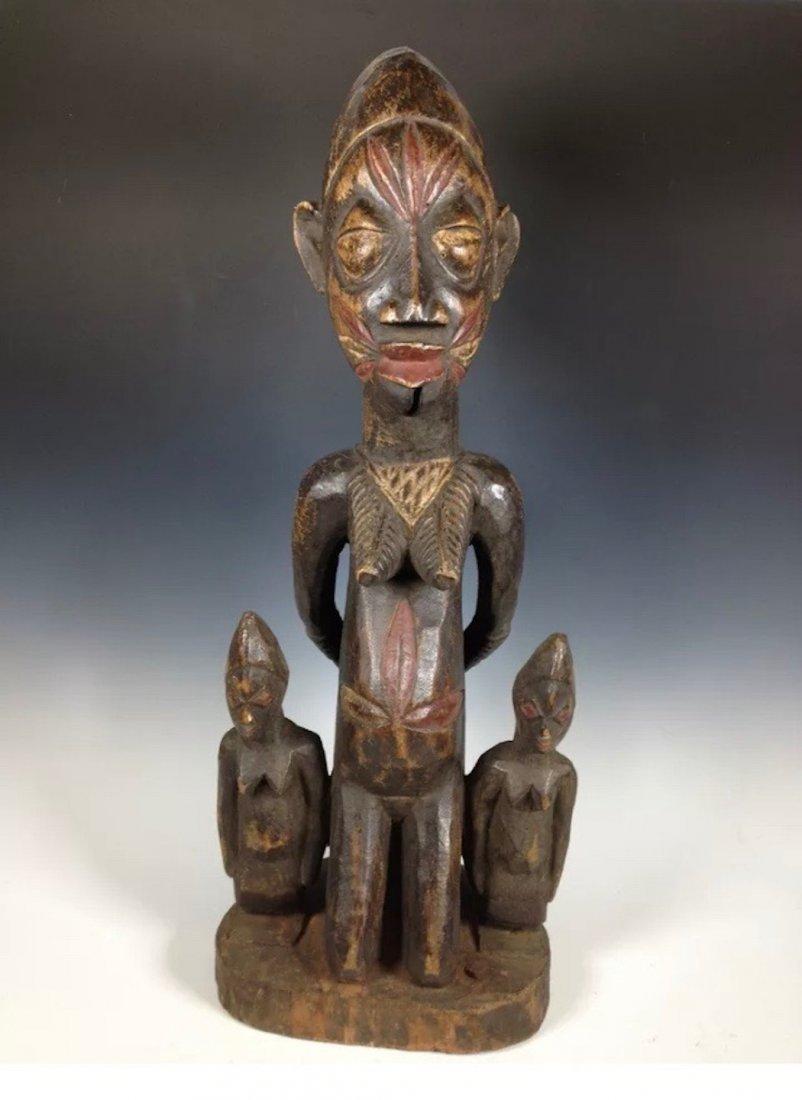 Yoruba Maternity Statue