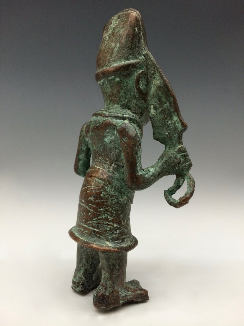 Benin Warrior Statue - 3