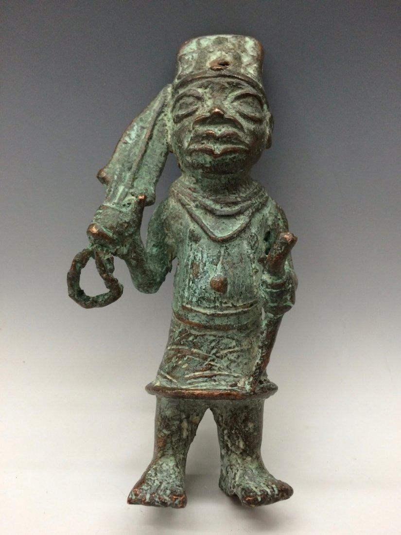Benin Warrior Statue - 5