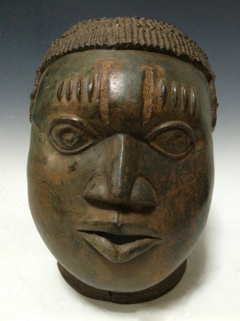 Benin Bronze Head