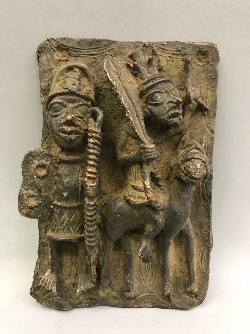 Benin Bronze Plaque