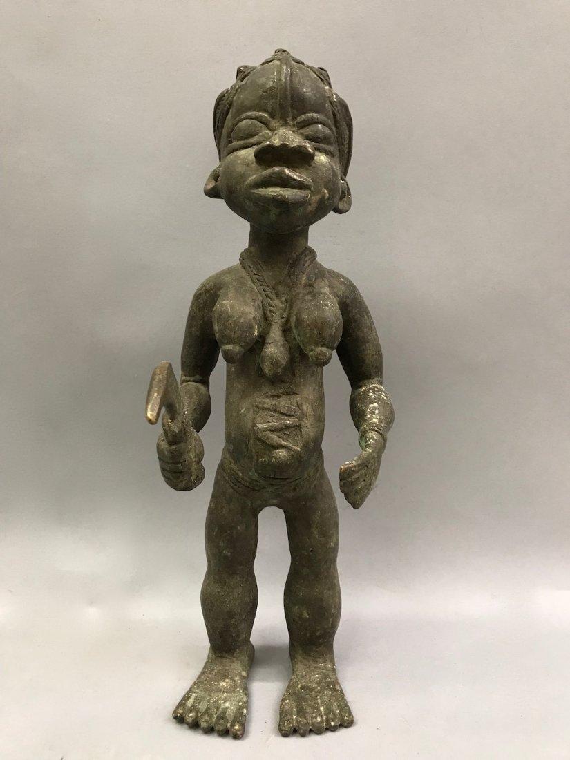Bamun Bronze Warrior