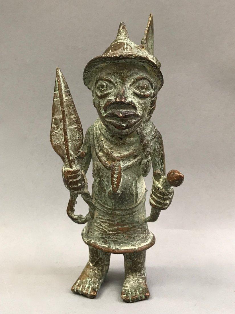 Benin Bronze Warrior