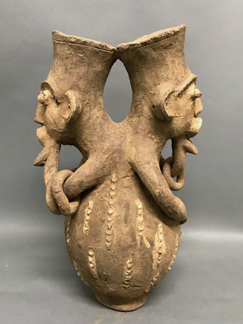 Mangbetu Pottery Jar