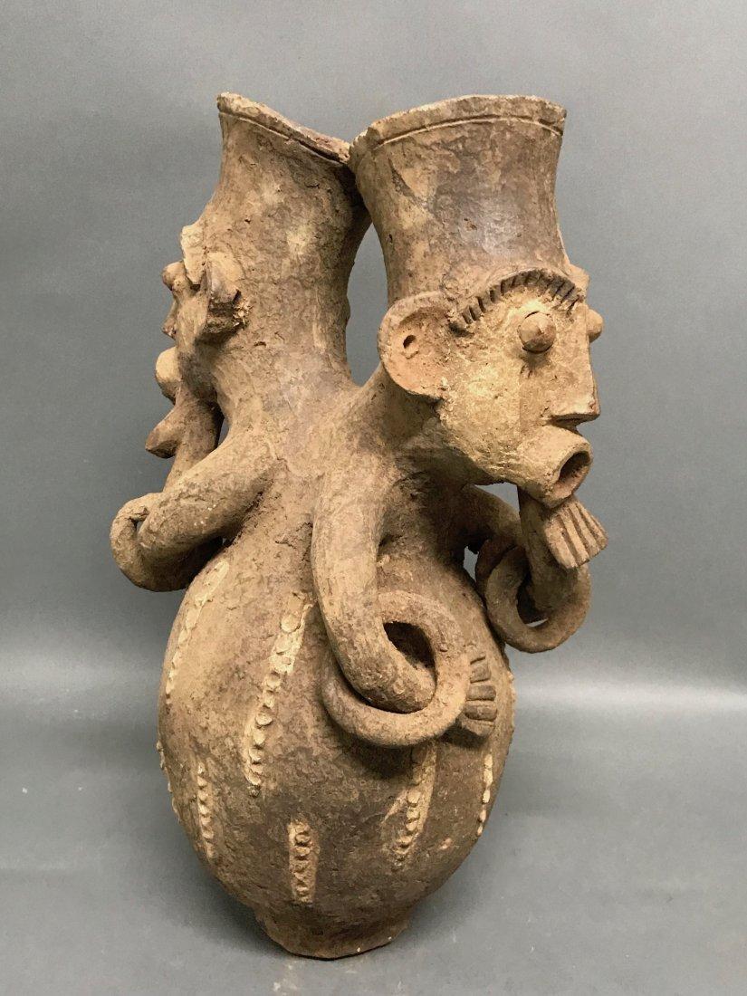 Mangbetu Pottery Jar - 3