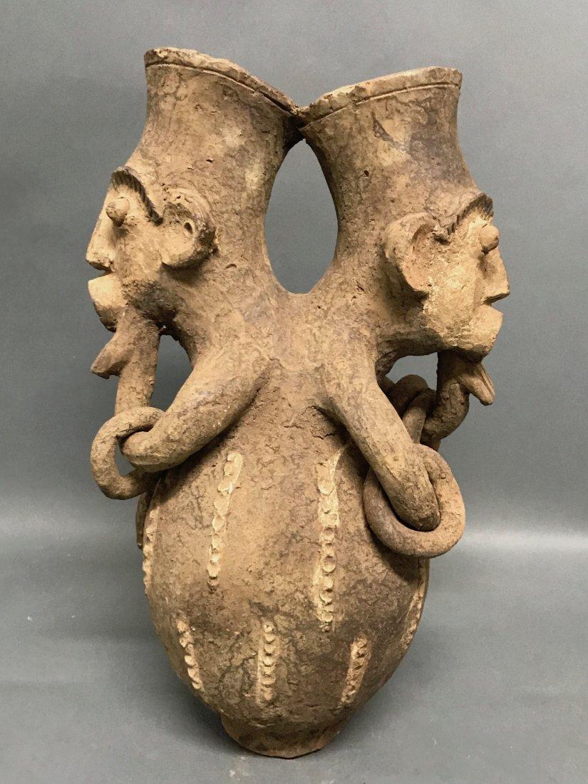 Mangbetu Pottery Jar - 4