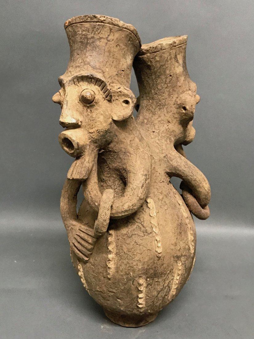 Mangbetu Pottery Jar - 5