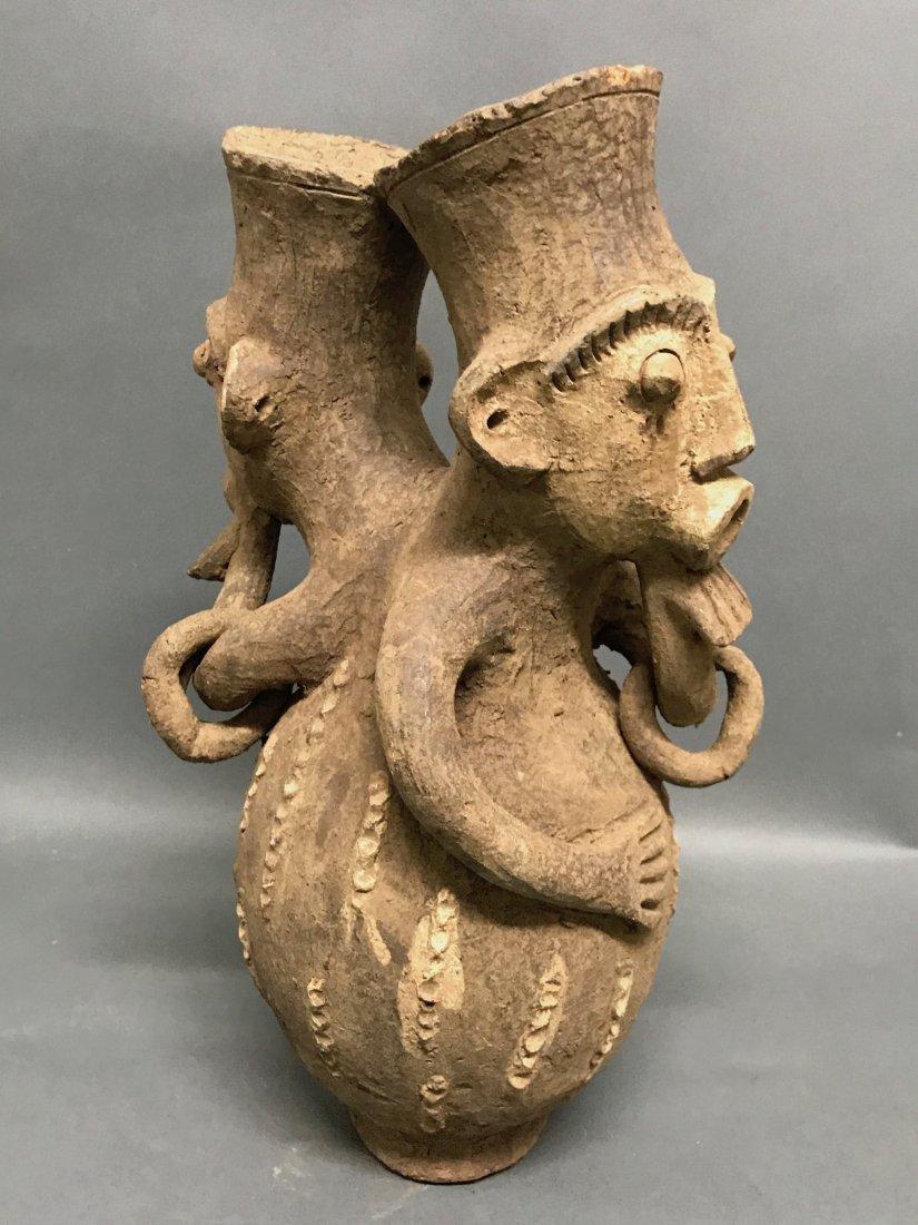 Mangbetu Pottery Jar - 7