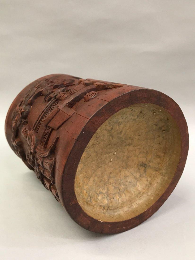 Bamboo Brushpot - 7