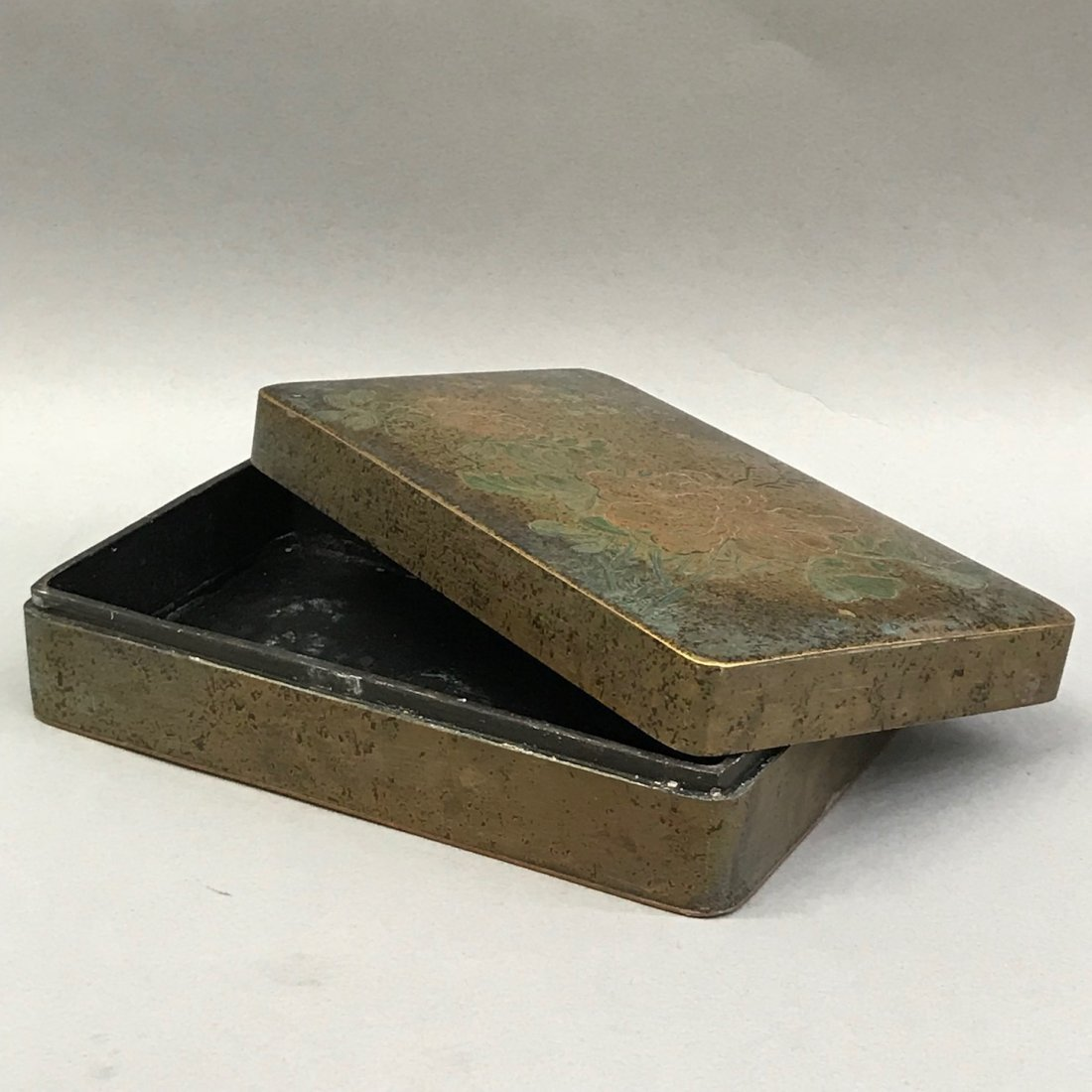 Chinese Metal Ink Box - 4