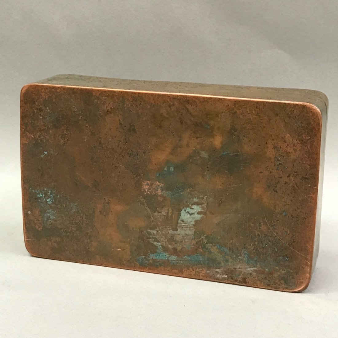 Chinese Metal Ink Box - 6