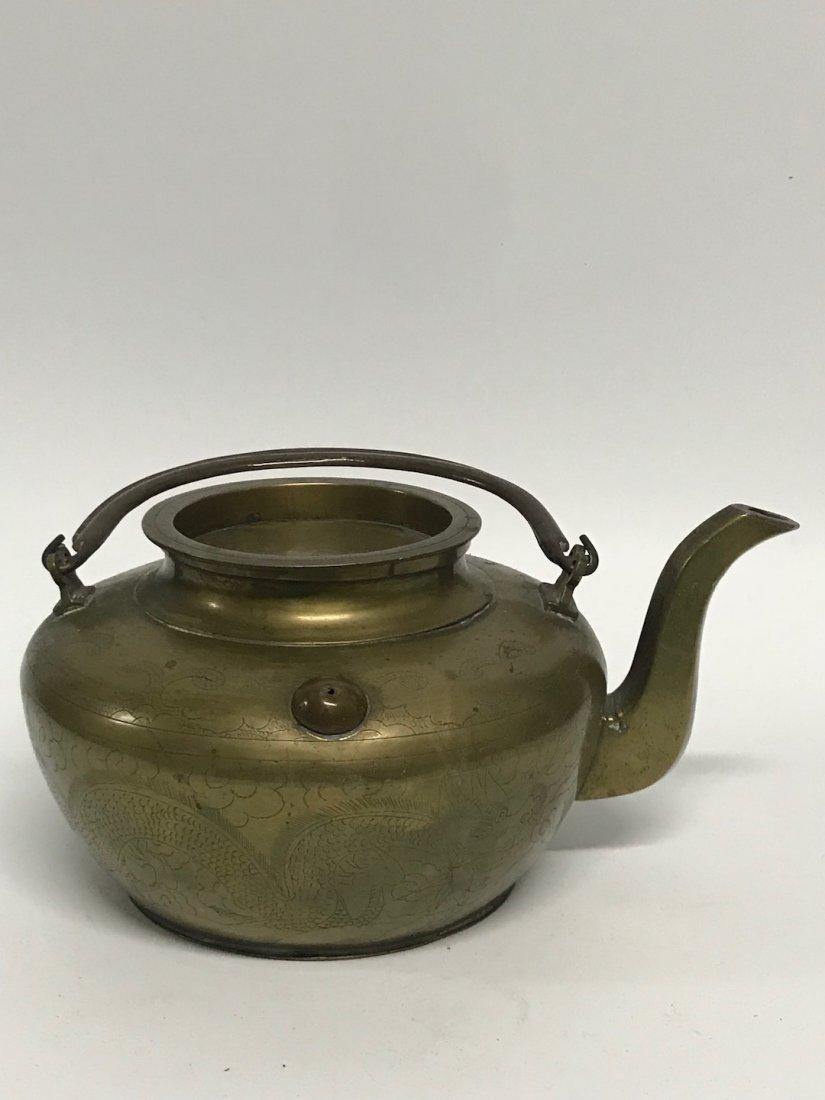 Bronze Teapot - 5