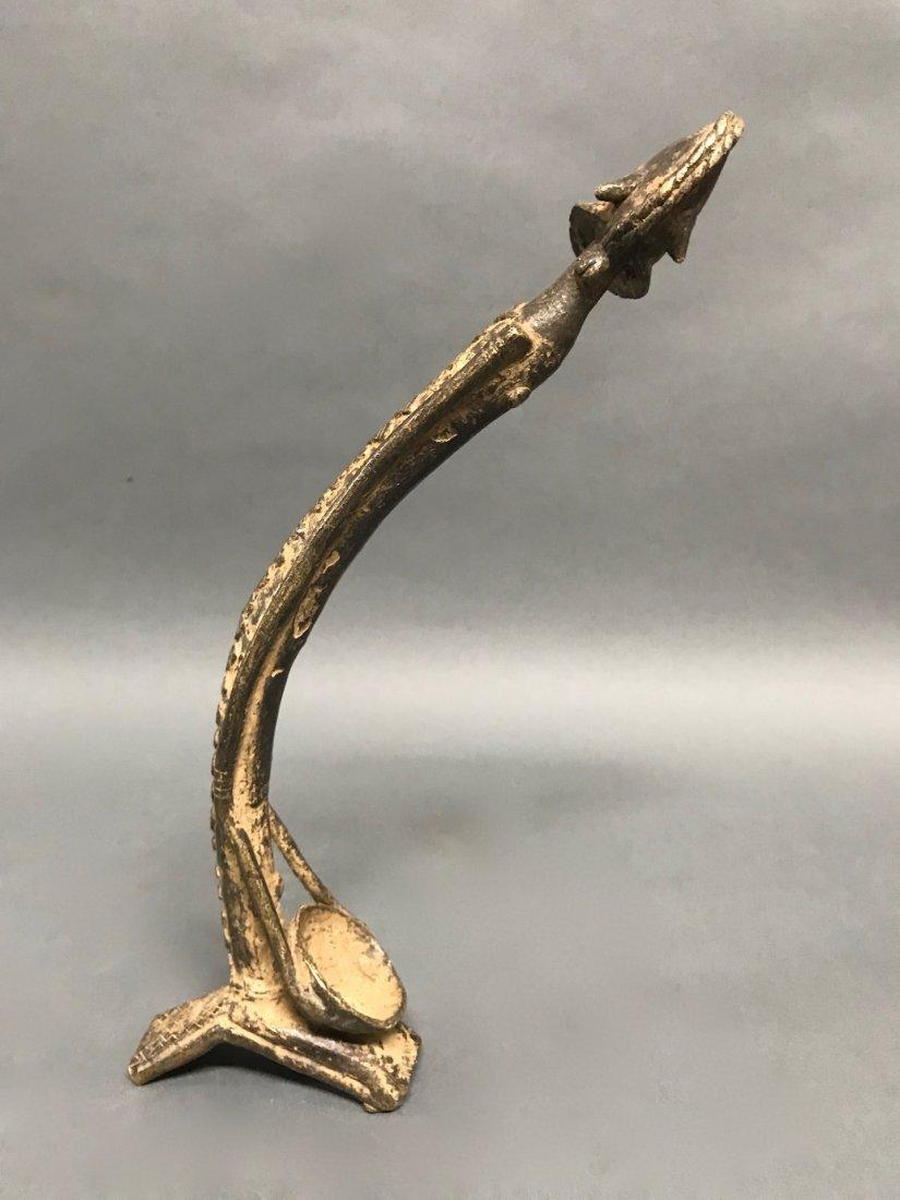 Dogon Bronze Statue - 4