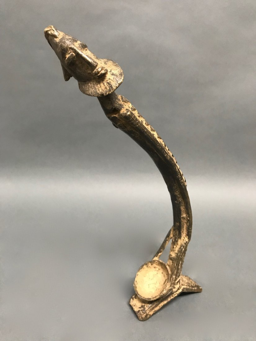 Dogon Bronze Statue - 6