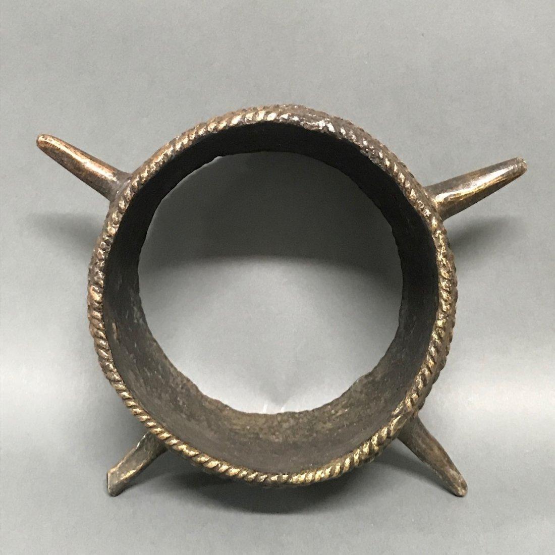 Nigerian Bronze Currency Bracelet - 5