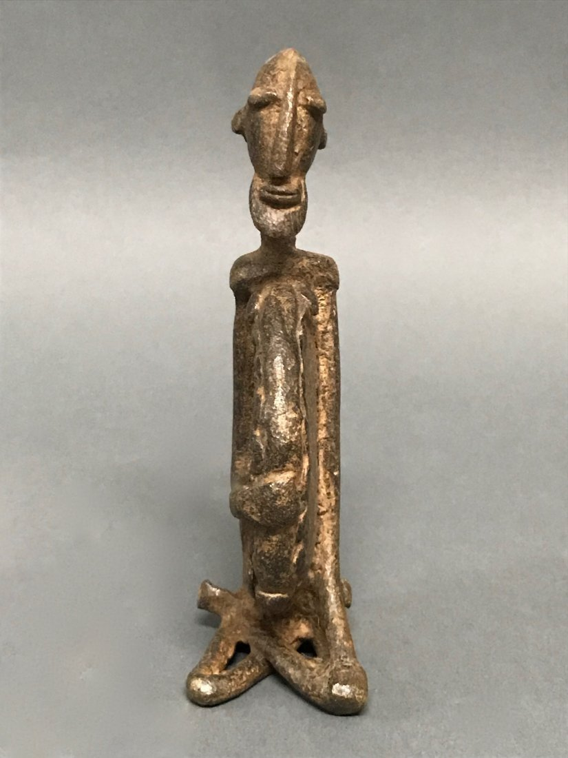 Dogon Bronze Statue - 2