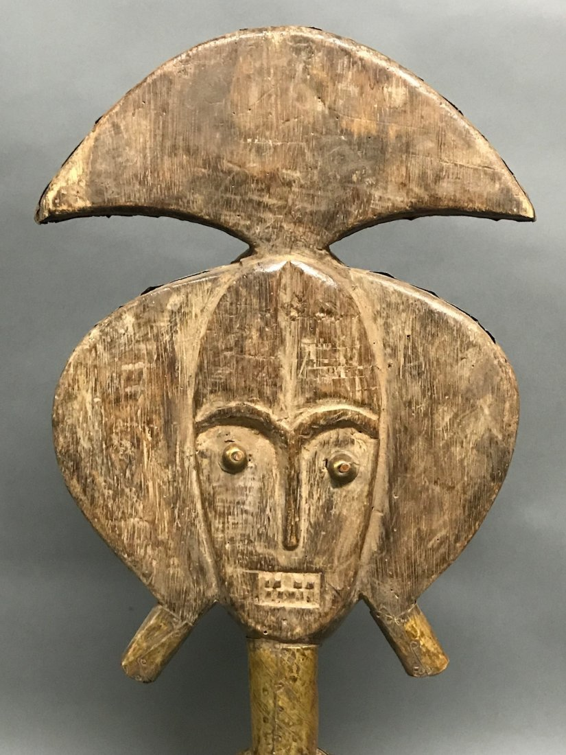 Bacota Reliquary Guardian Statue - 6