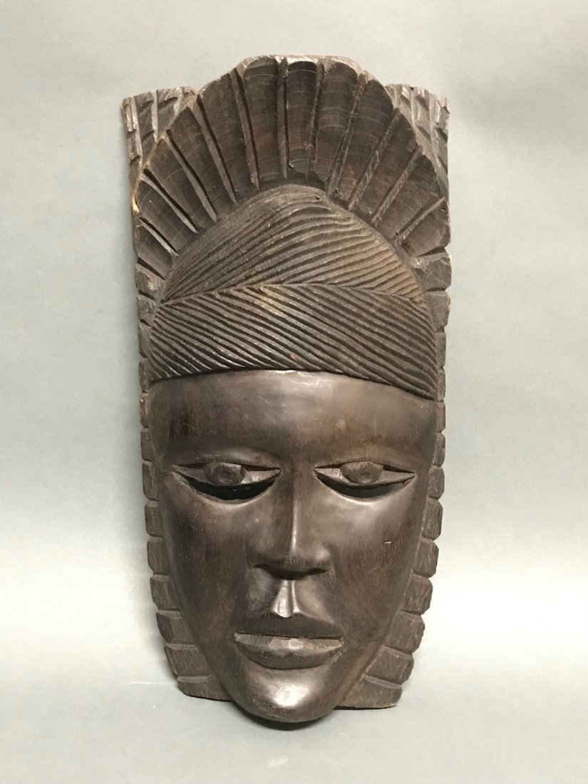 Ebony Wood Mask